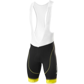 Löffler Gironde Gel Bike Bib Pants Men black/lemon